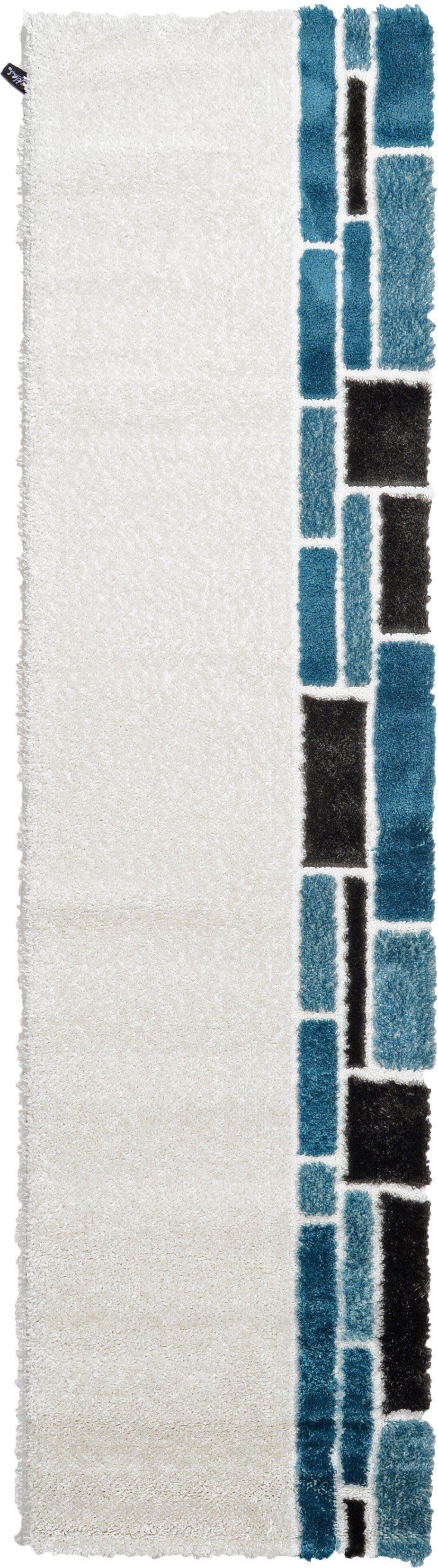2' 7 x 9' 10 Abstract Shag Runner Rug main image