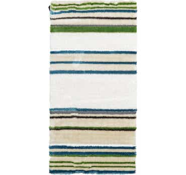 Image of 3' 3 x 6' 7 Abstract Shag Rug