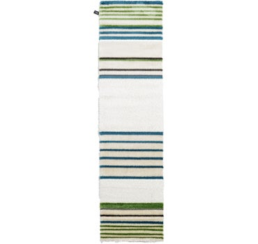 2' 7 x 9' 10 Abstract Shag Runner Rug main image