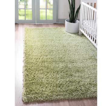 Image of  Cedar Green Luxury Solid Shag Rug