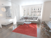 7' x 10' Luxe Solid Shag Rug thumbnail