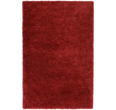 Image of  Red Luxury Solid Shag Rug