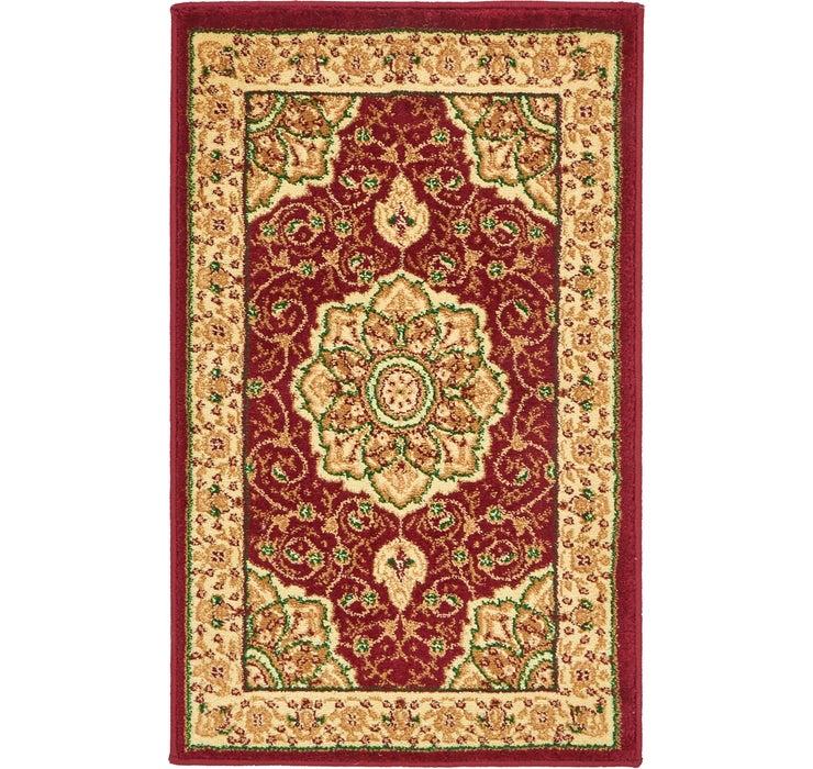 1' 8 x 2' 8 Mashad Design Rug
