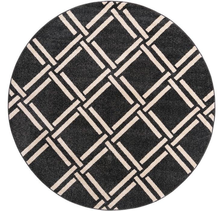 8' x 8' Trellis Round Rug