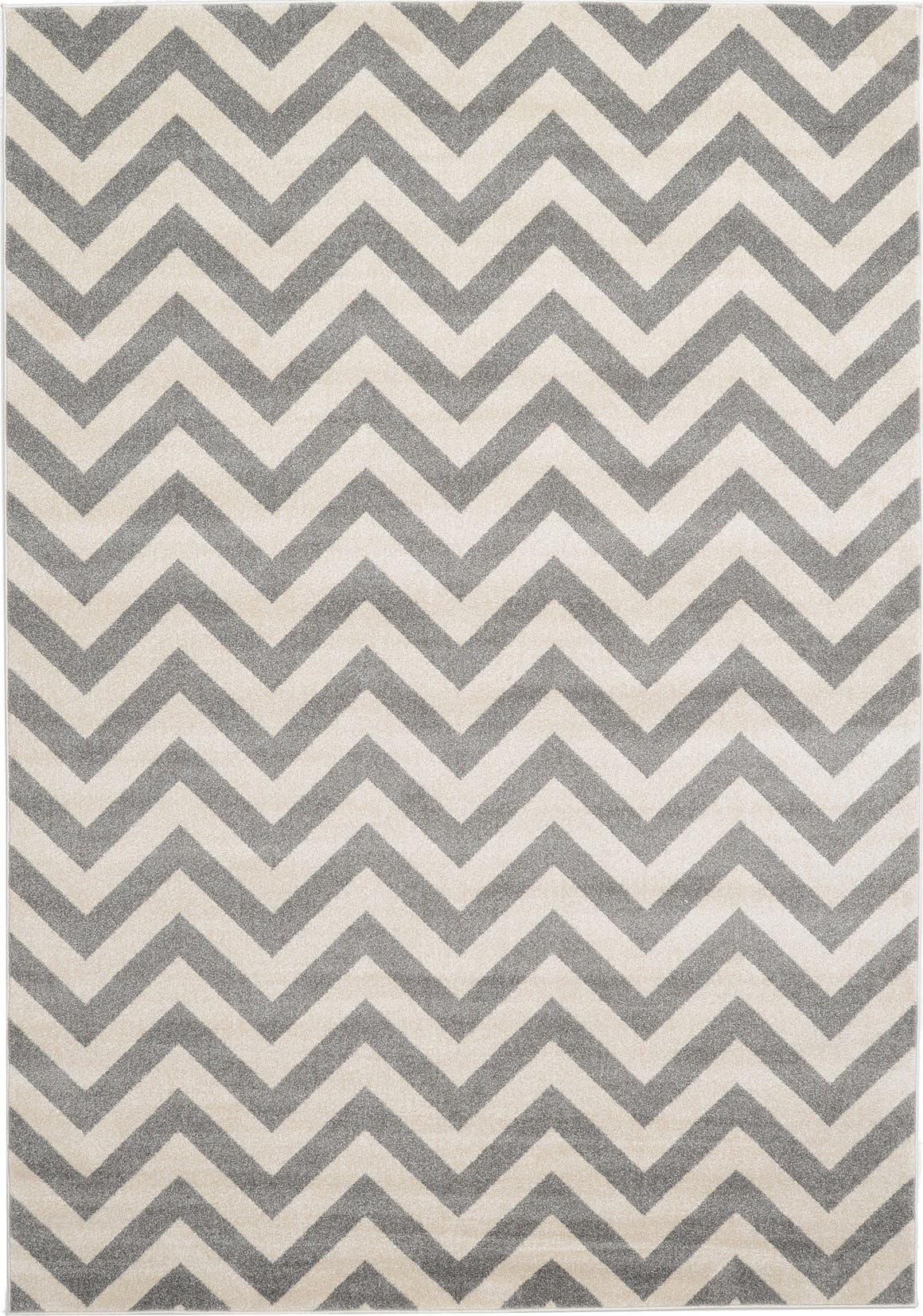 Gray 7' x 10' Chevron Rug | eSaleRugs