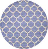 8' x 8' Lattice Round Rug thumbnail