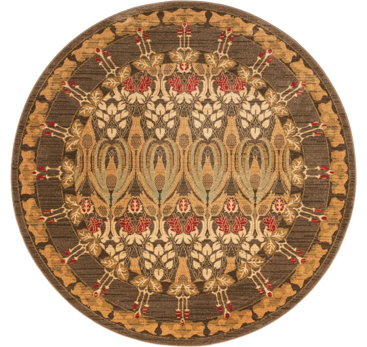 6' x 6' Kensington Round Rug