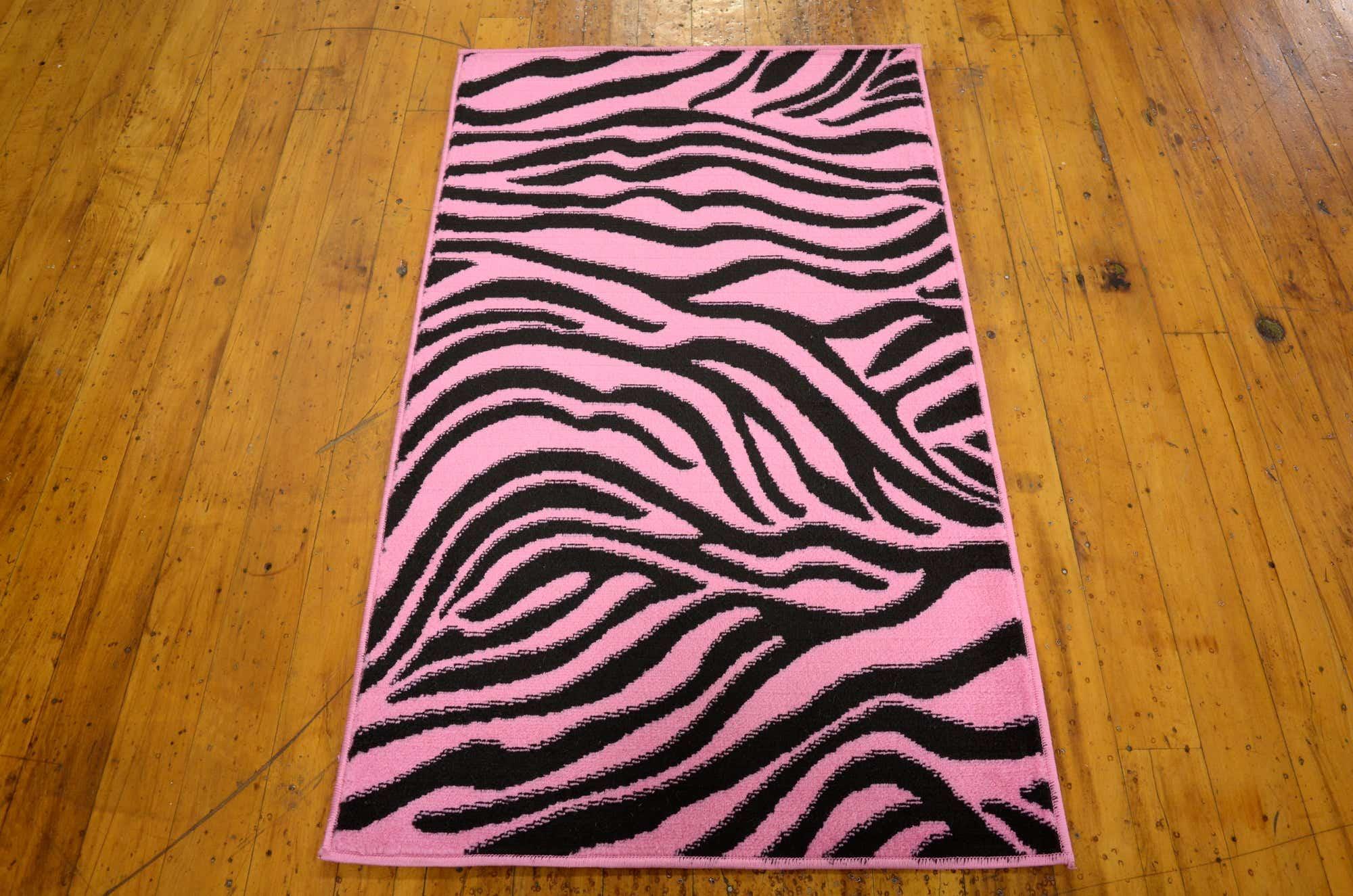 Pink 75cm x 125cm Safari Rug   iRugs CH