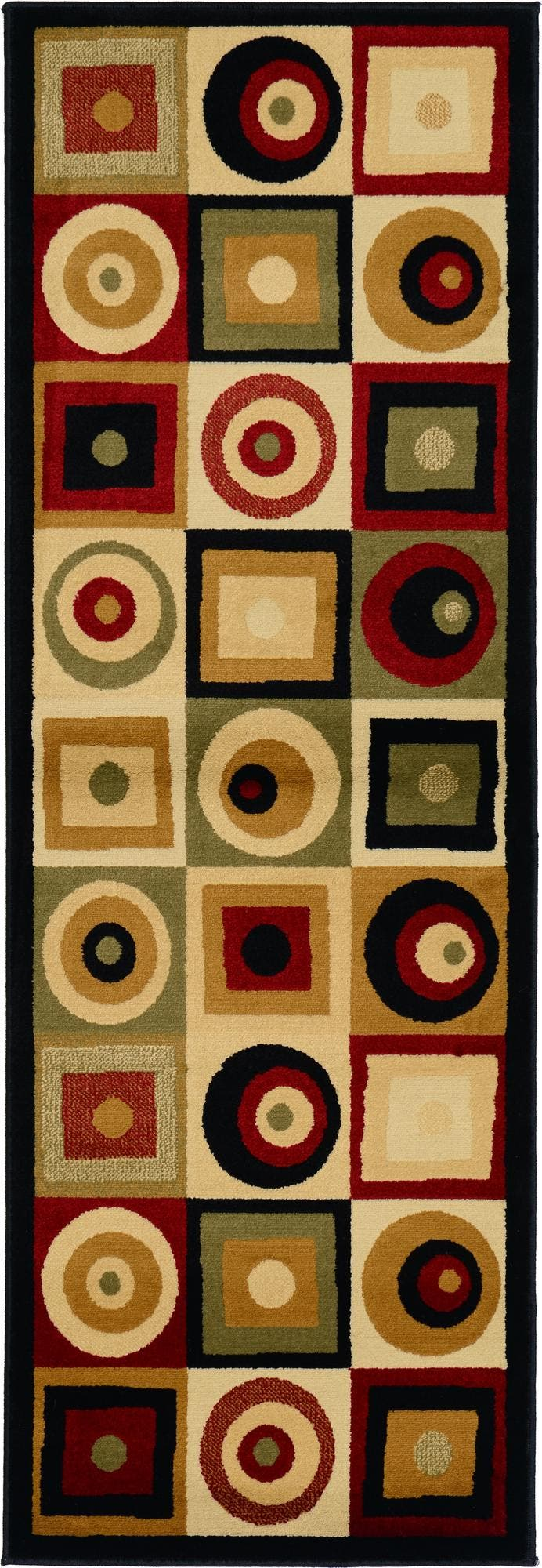 2' x 5' 8 Reproduction Gabbeh Runner Rug main image