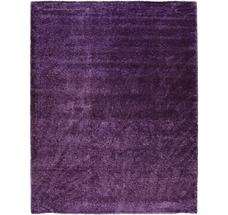 12' 2 x 16' Luxe Solid Shag Rug