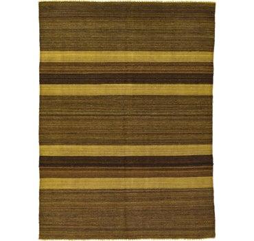 Image of 5' 2 x 6' 9 Kilim Afghan Rug