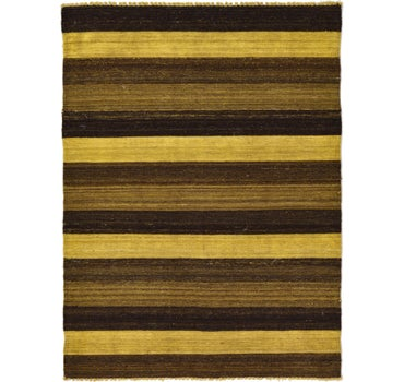 Image of 3' 6 x 4' 9 Kilim Afghan Rug