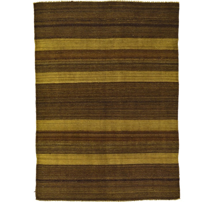 Image of 125cm x 175cm Kilim Afghan Rug