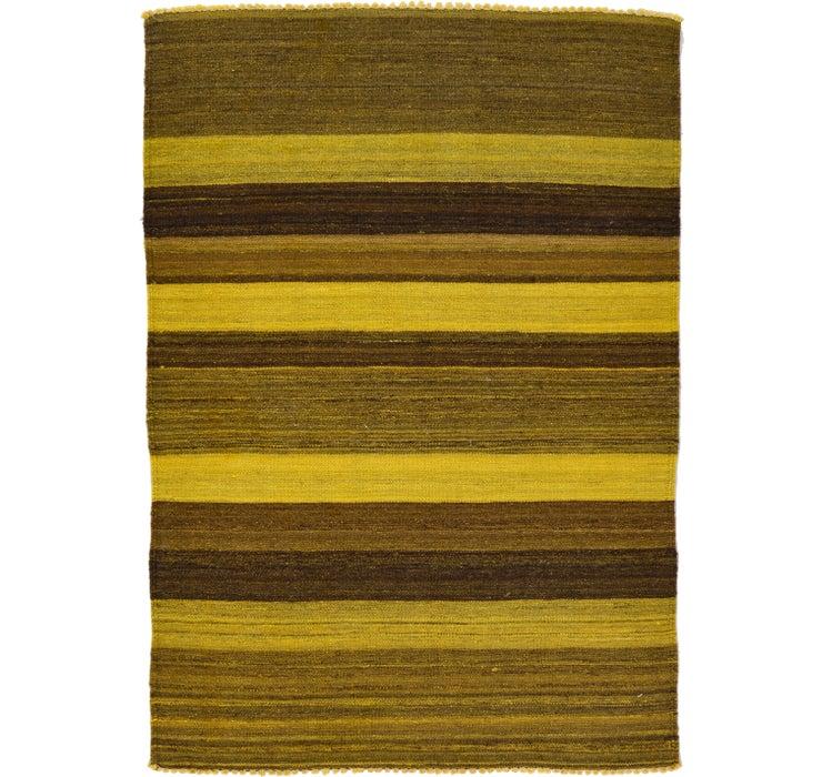 105cm x 147cm Kilim Afghan Rug