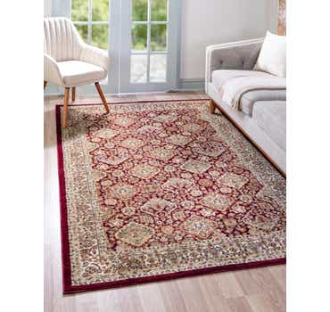 Image of  Red Aditi Rug