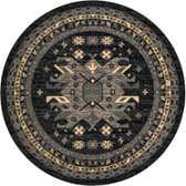 245cm x 245cm Heriz Design Round Rug thumbnail