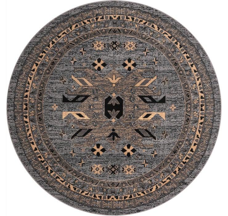 8' x 8' Heris Round Rug