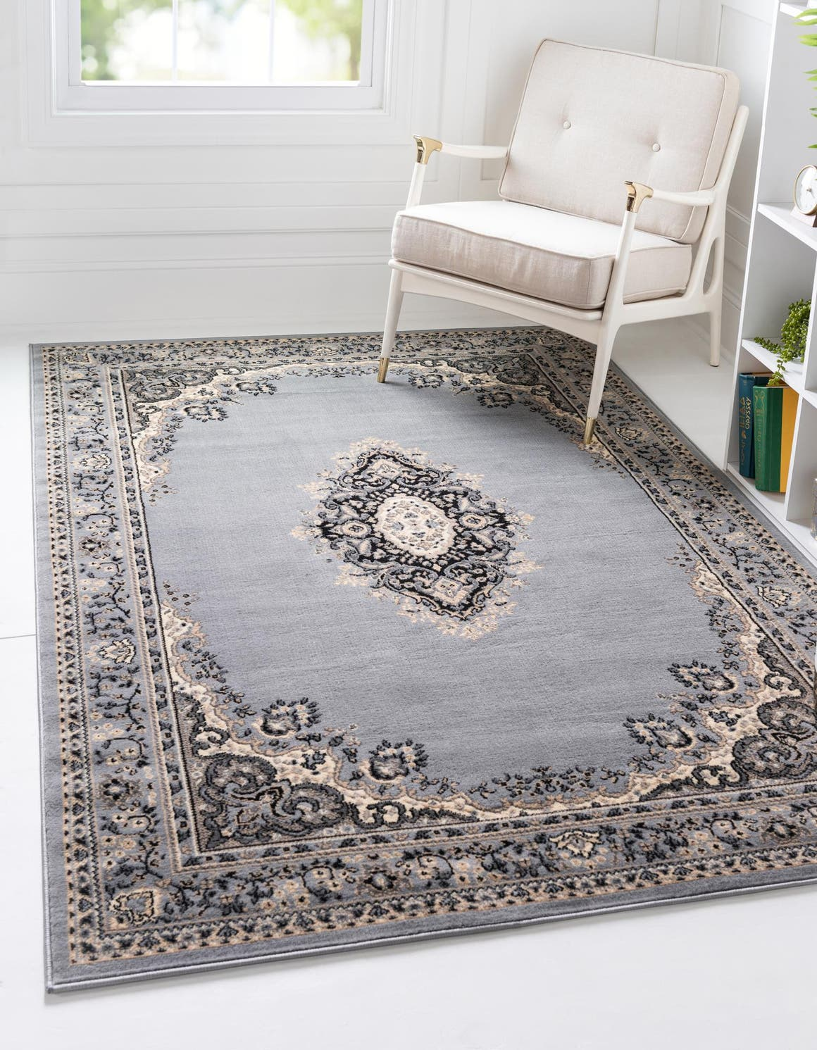 9' x 12' Mashad Design Rug main image