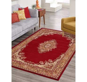 Image of 5' x 8' Mashad Design Rug