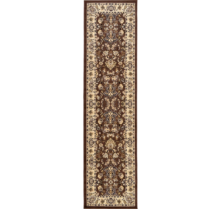 80cm x 305cm Kashan Design Runner Rug