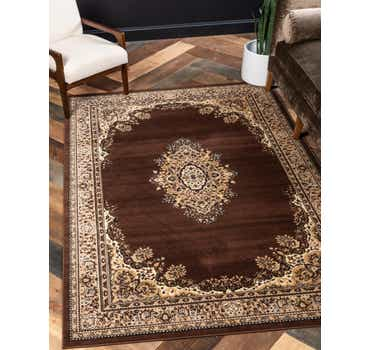 Image of 7' x 10' Mashad Design Rug