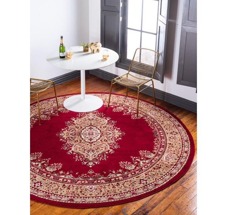 Image of 245cm x 245cm Mashad Design Round Rug