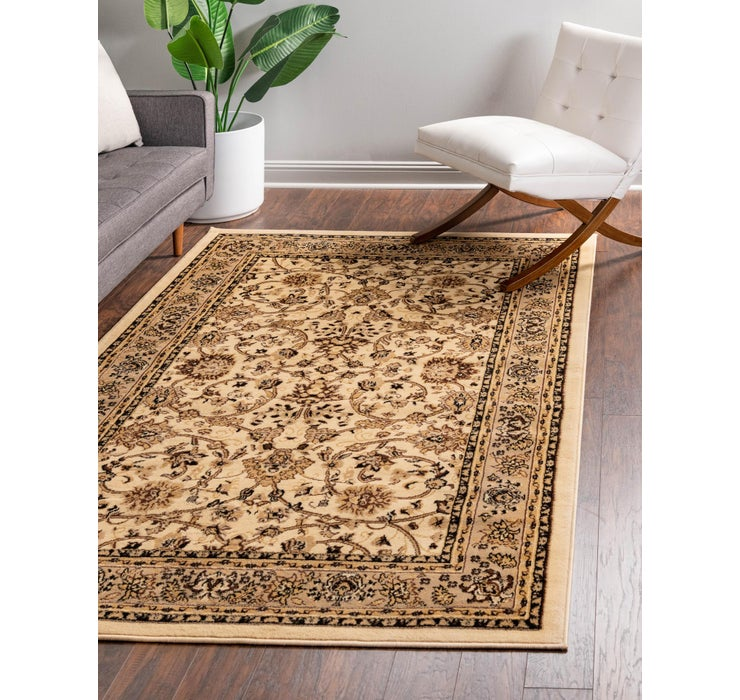 Image of 4' x 6' Kashan Design Rug