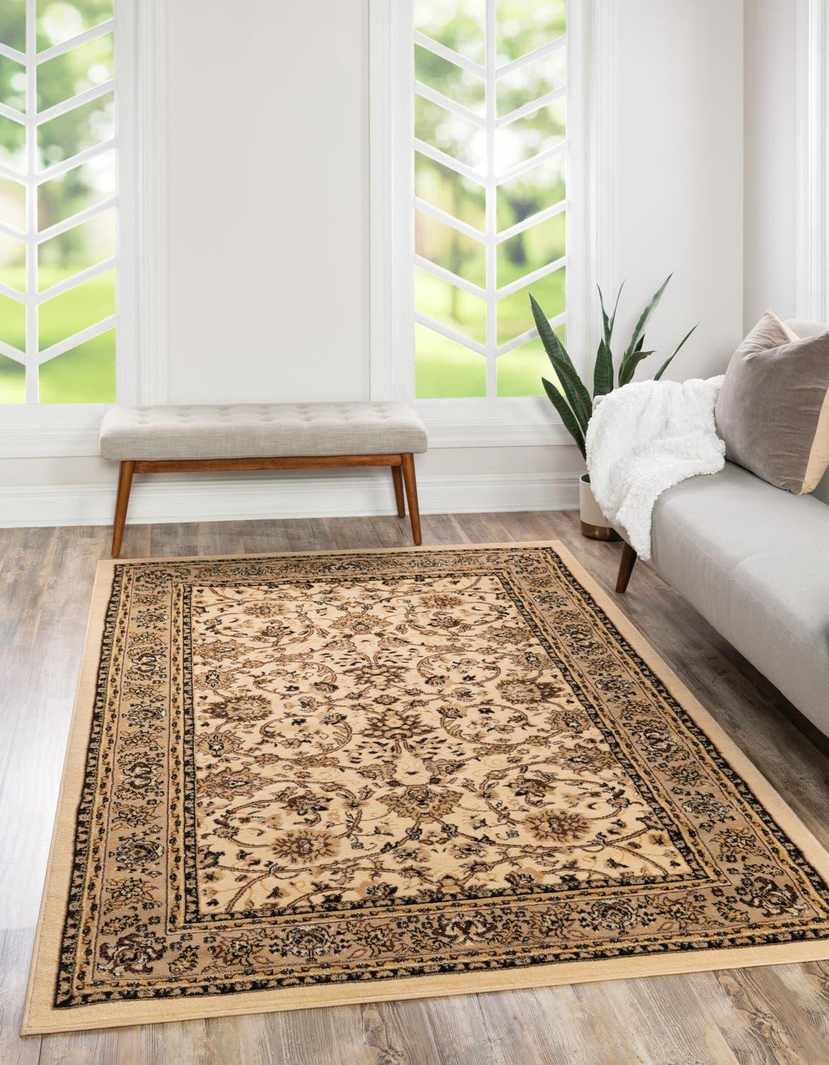 6' x 9' Kashan Design Rug main image