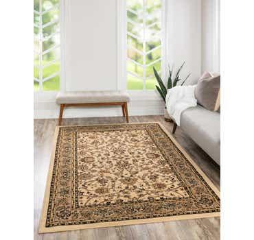Image of 122cm x 183cm Kashan Design Rug