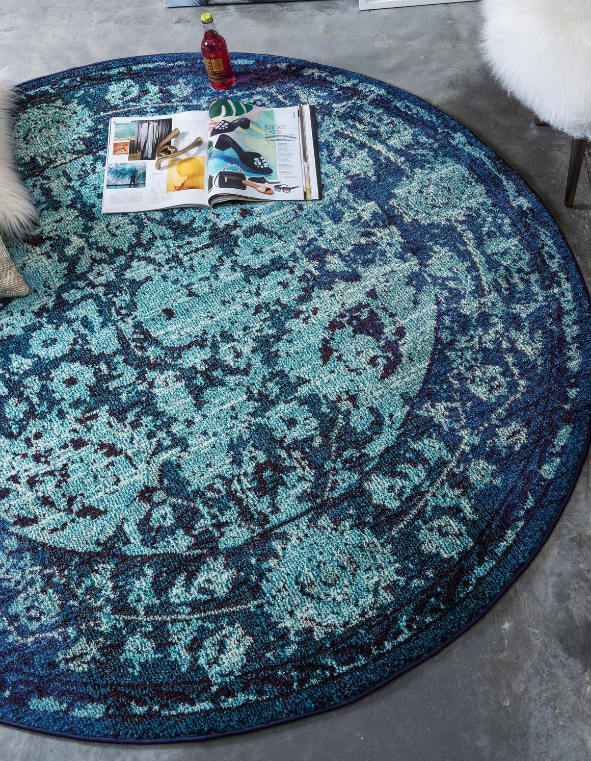 8' x 8' Palazzo Round Rug main image