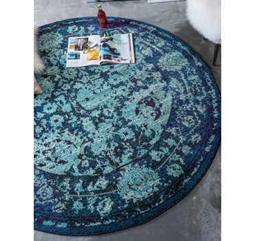 Image of 100cm x 100cm Palazzo Round Rug