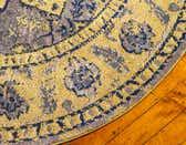 8' x 8' Fleur Round Rug thumbnail