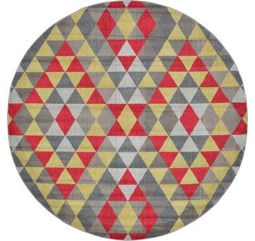 8' x 8' Santa Fe Round Rug main image