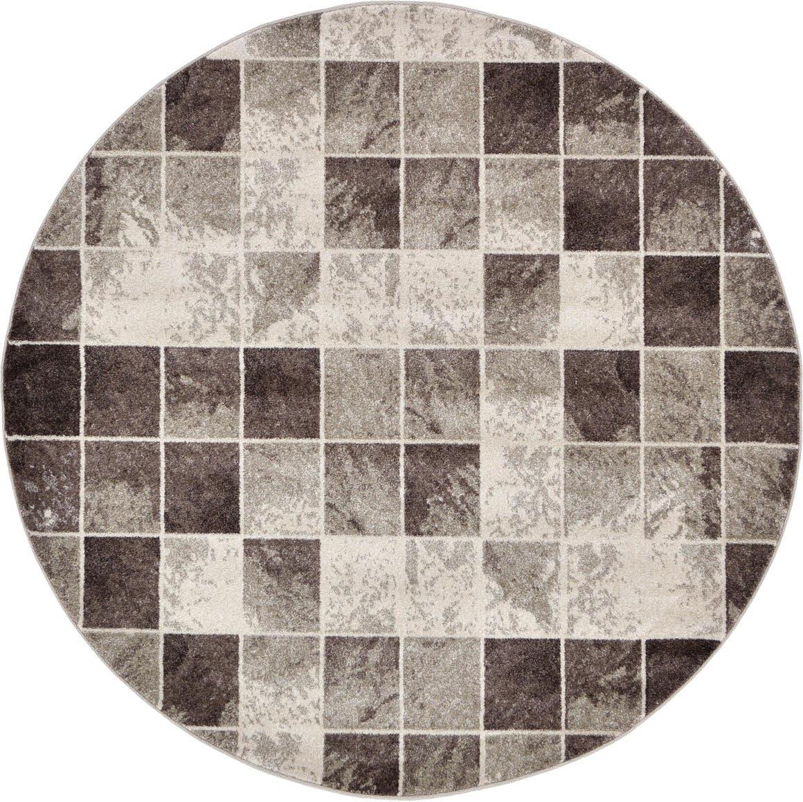 6' x 6' Safari Round Rug main image