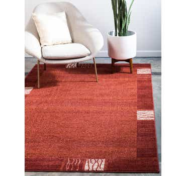 Image of  Rust Red Angelica Rug
