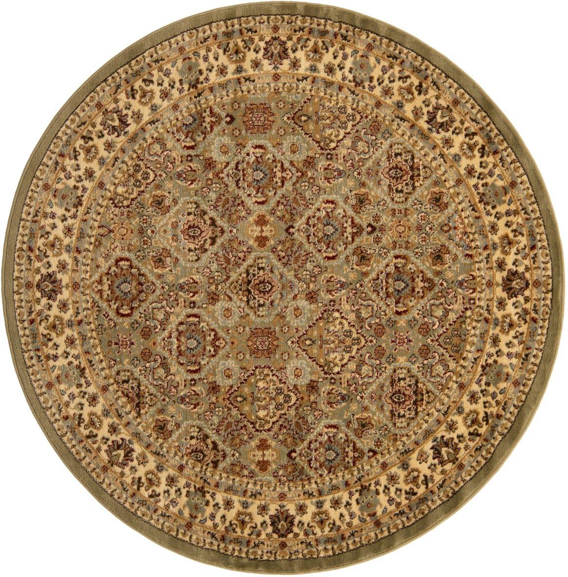 6' x 6' Classic Agra Round Rug main image