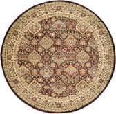 245cm x 245cm Classic Agra Round Rug thumbnail image 9