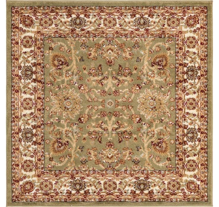 Image of 125cm x 125cm Classic Agra Square Rug
