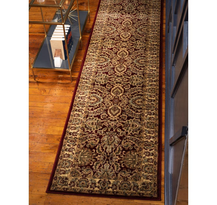 Image of 2' 7 x 10' Classic Agra Runner Rug
