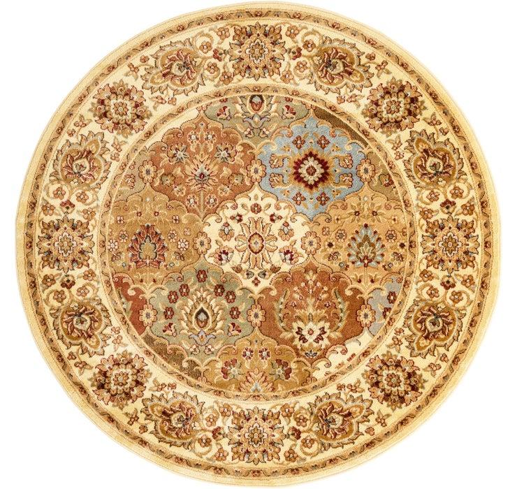 185cm x 185cm Classic Agra Round Rug