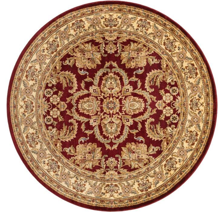 245cm x 245cm Classic Agra Round Rug