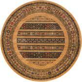 6' x 6' Kashkuli Gabbeh Round Rug thumbnail