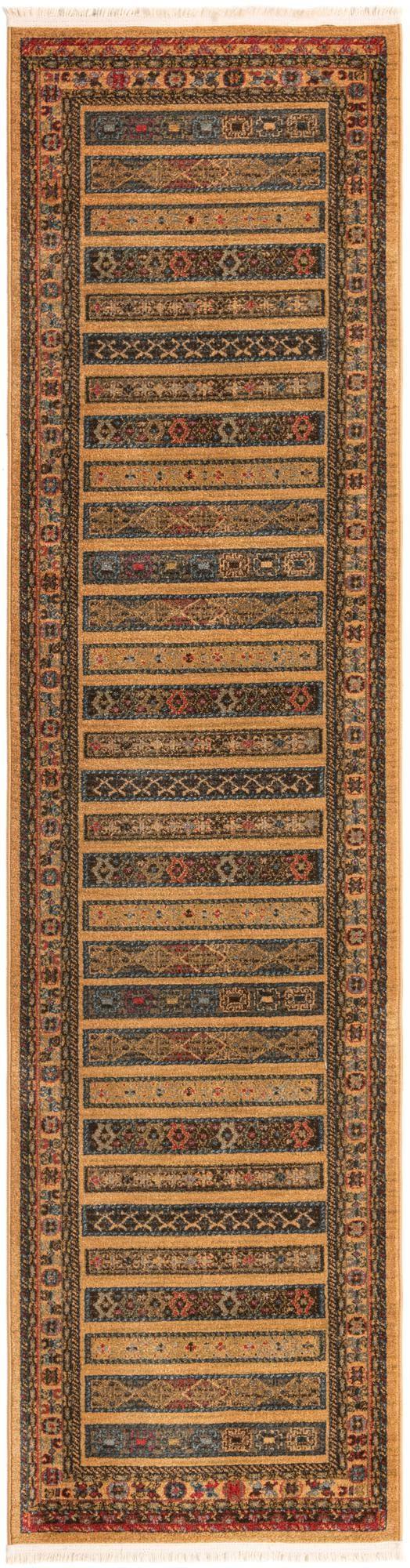 2' 7 x 10' Kashkuli Gabbeh Runner Rug main image