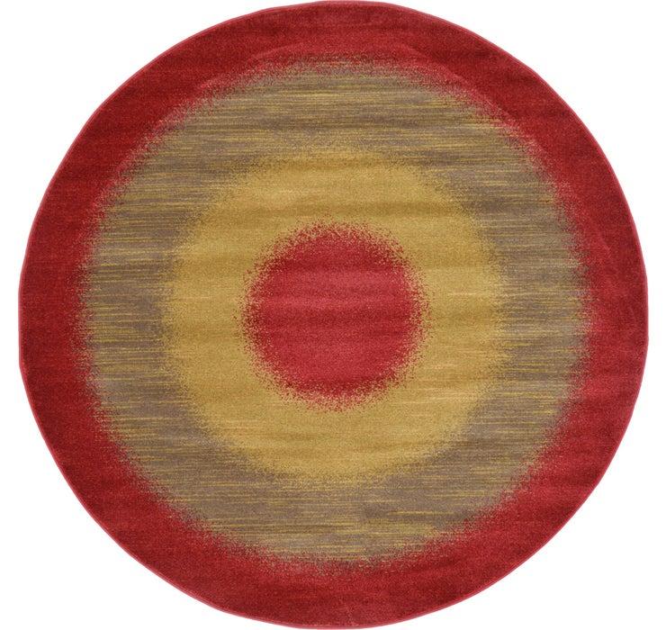 6' x 6' Kashkuli Gabbeh Round Rug