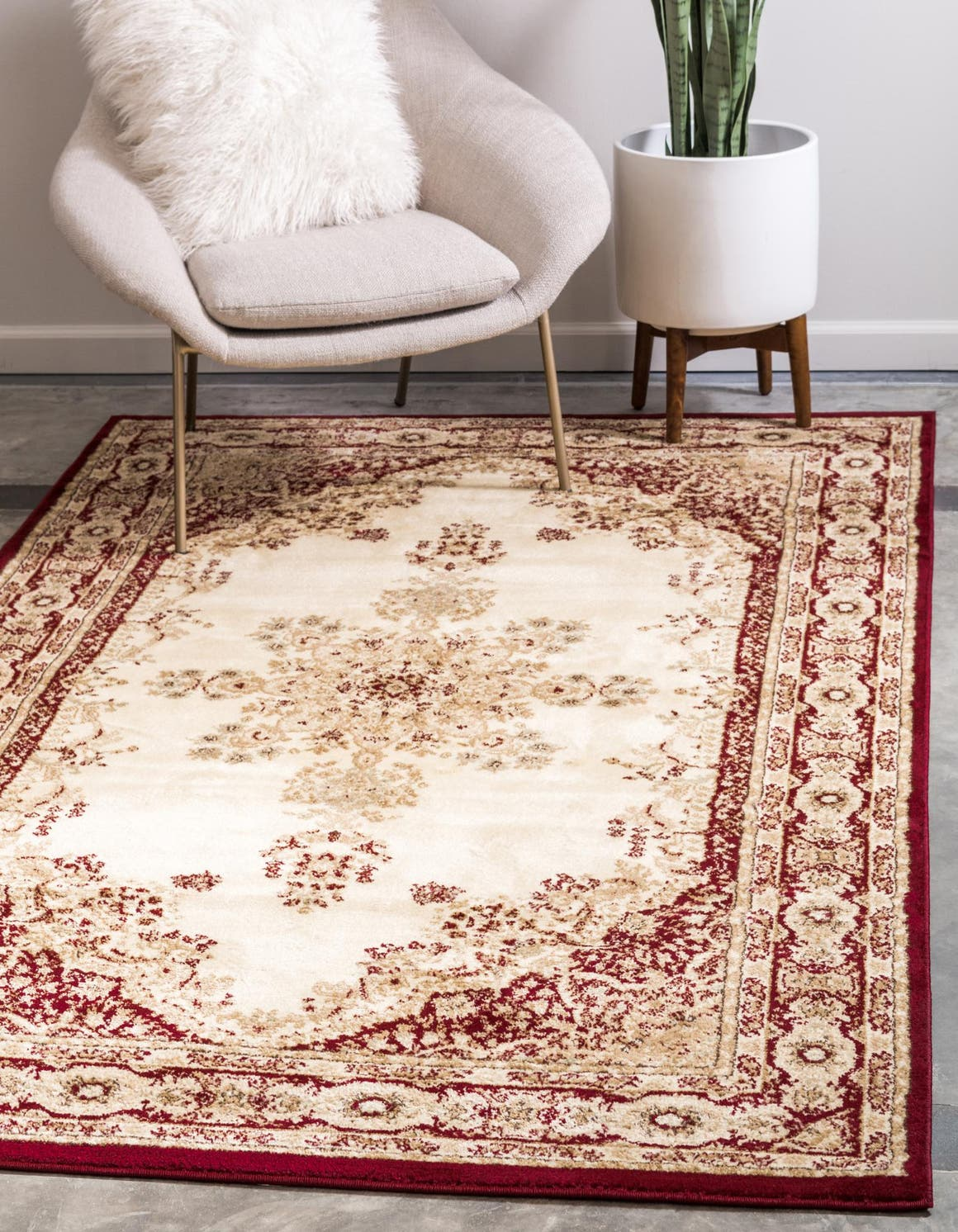 10' 6 x 16' 5 Classic Aubusson Rug main image