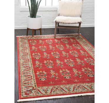 Image of  Red Kashkuli Gabbeh Rug
