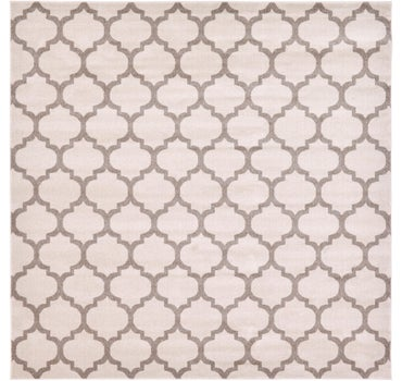 10' x 10' Trellis Square Rug main image