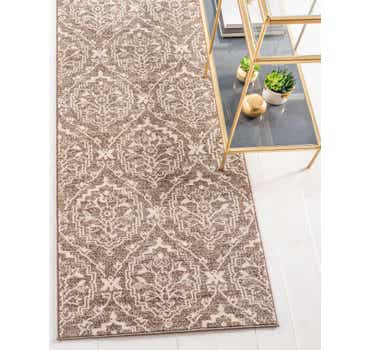Image of  Light Brown Diana Runner Rug