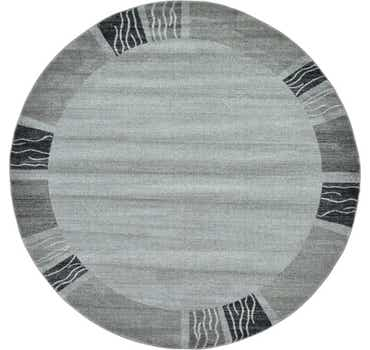 Image of  Light Gray Angelica Round Rug