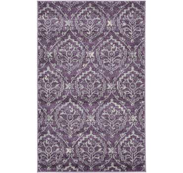Image of 3' 3 x 5' 3 Damask Rug
